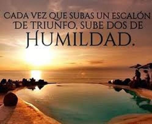 La Humildad…