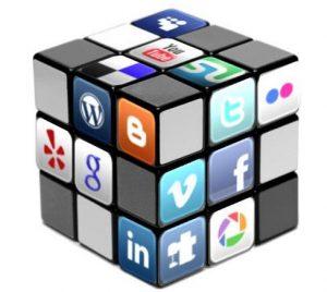 Dado con las redes sociales mas populares