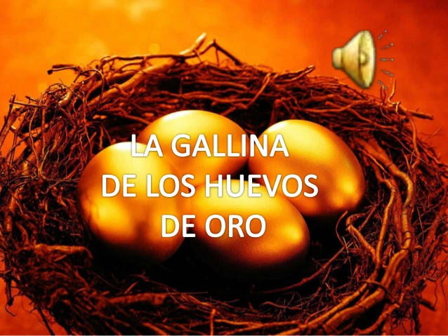 Puso huevos de ORO…..